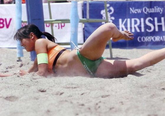 女子ビーチバレー選手達の股間やお尻の食い込みに注目 画像44枚 16