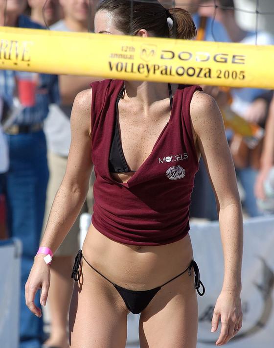 女子ビーチバレー選手達の股間やお尻の食い込みに注目 画像44枚 1