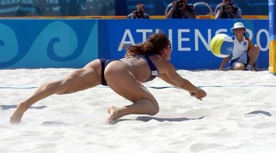 女子ビーチバレー選手達の股間やお尻の食い込みに注目 画像44枚 22