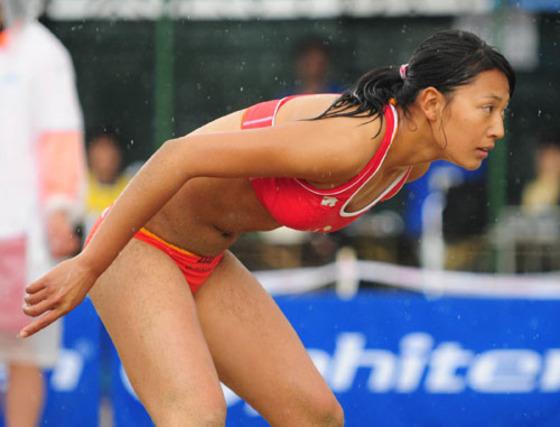 女子ビーチバレー選手達の股間やお尻の食い込みに注目 画像44枚 37