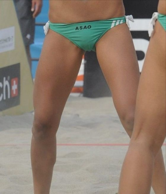 女子ビーチバレー選手達の股間やお尻の食い込みに注目 画像44枚 6