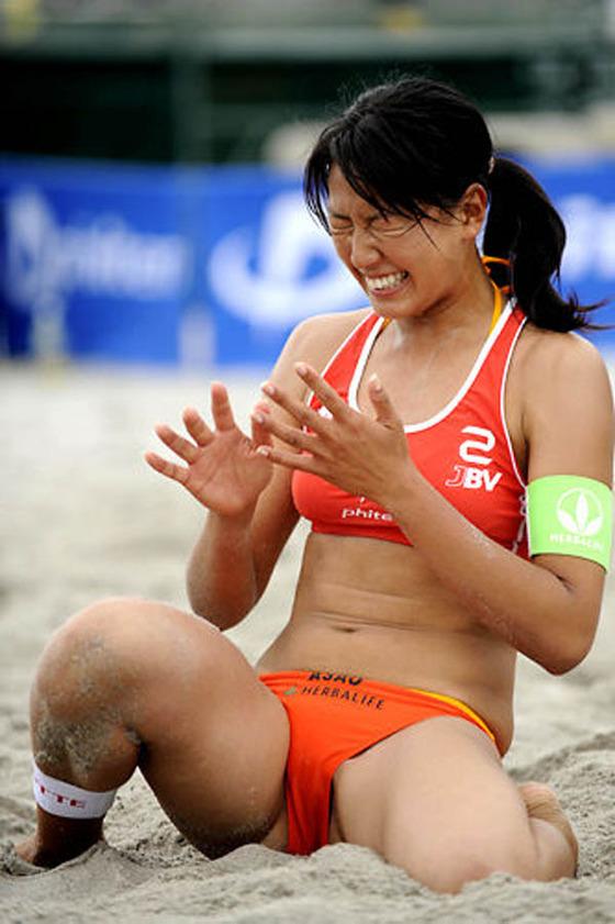 女子ビーチバレー選手達の股間やお尻の食い込みに注目 画像44枚 8