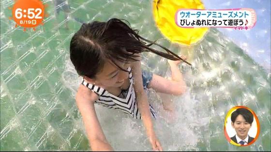 佐藤美希 めざましテレビのFカップ胸チラキャプ 画像21枚 13