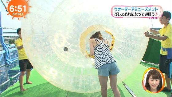 佐藤美希 めざましテレビのFカップ胸チラキャプ 画像21枚 5