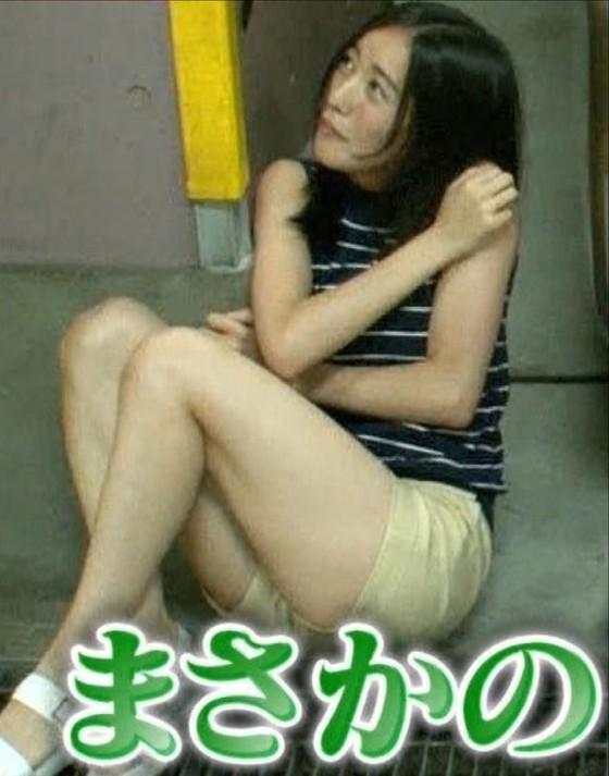 松井珠理奈 ドッキリ企画で披露した生足美脚&太ももキャプ 画像30枚 26
