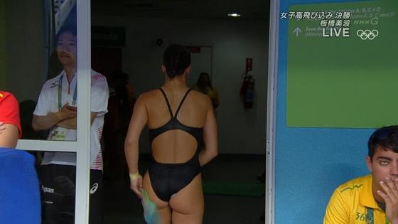 リオ五輪女子飛び込みのお尻&股間食い込みキャプ 画像32枚 12
