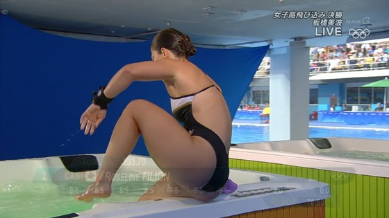 リオ五輪女子飛び込みのお尻&股間食い込みキャプ 画像32枚 17