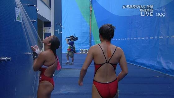 リオ五輪女子飛び込みのお尻&股間食い込みキャプ 画像32枚 22