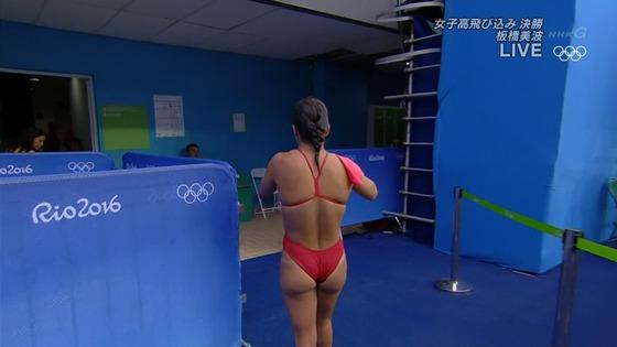 リオ五輪女子飛び込みのお尻&股間食い込みキャプ 画像32枚 26