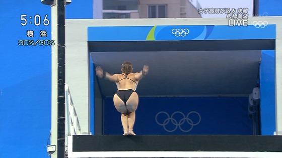 リオ五輪女子飛び込みのお尻&股間食い込みキャプ 画像32枚 28
