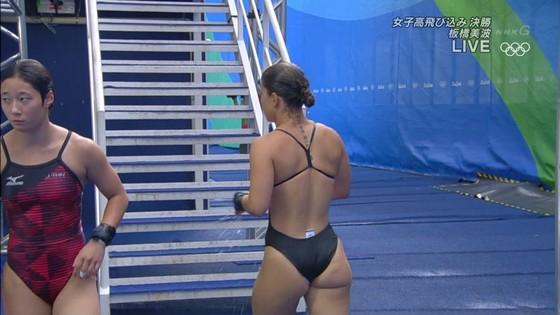 リオ五輪女子飛び込みのお尻&股間食い込みキャプ 画像32枚 2