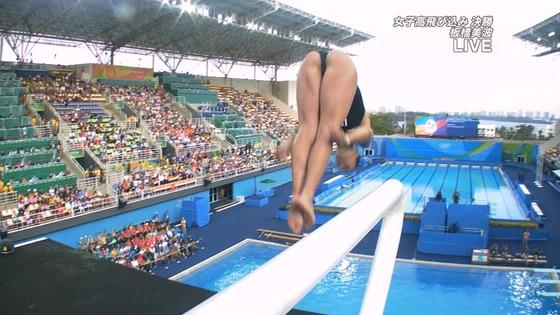 リオ五輪女子飛び込みのお尻&股間食い込みキャプ 画像32枚 6