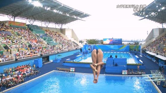リオ五輪女子飛び込みのお尻&股間食い込みキャプ 画像32枚 7