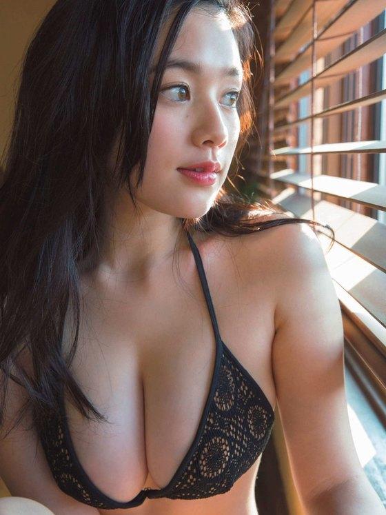 筧美和子 Hカップの垂れ乳爆乳水着グラビア 画像23枚 1