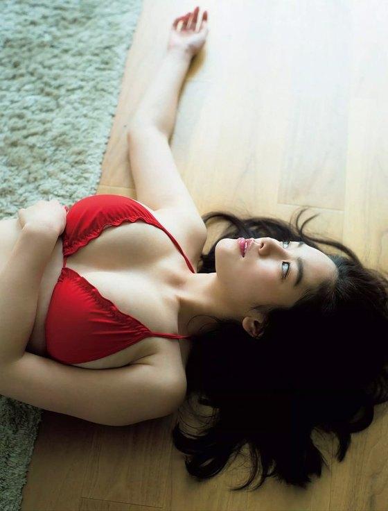 筧美和子 Hカップの垂れ乳爆乳水着グラビア 画像23枚 22