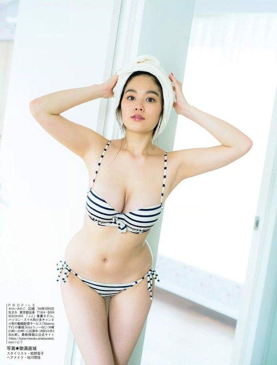 筧美和子 Hカップの垂れ乳爆乳水着グラビア 画像23枚 23