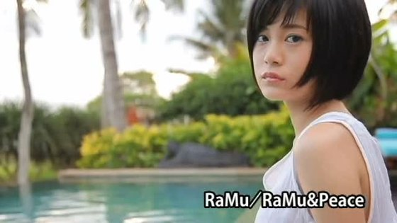 RaMu ヤングアニマルのGカップ爆乳水着グラビア 画像37枚 35