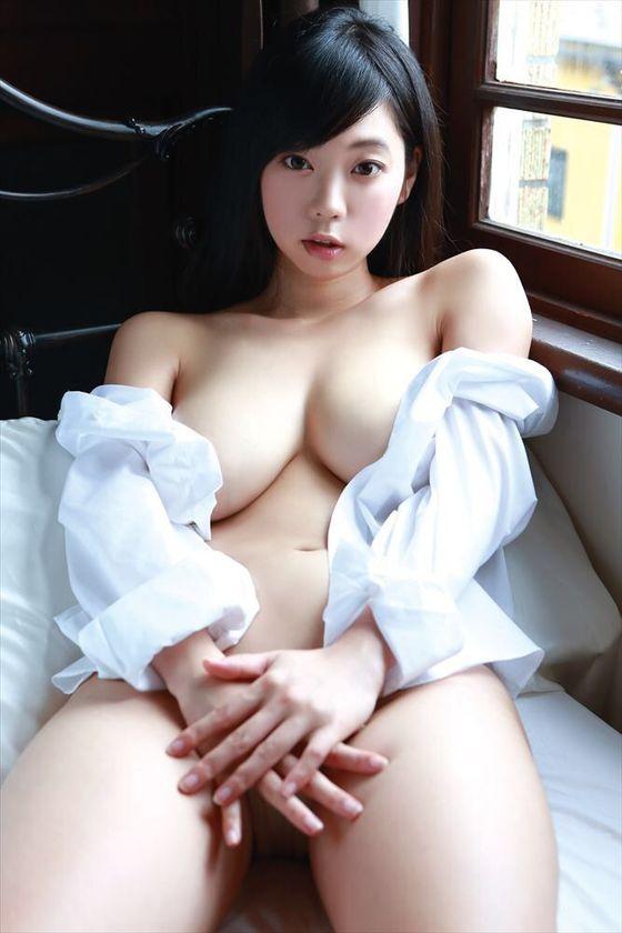 青山ひかる コンドーム宣伝大使のIカップ爆乳 画像15枚 11