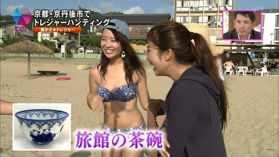 テレビ番組のロケで映った一般女性達の水着姿キャプ 画像32枚 11