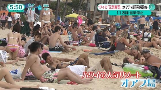 テレビ番組のロケで映った一般女性達の水着姿キャプ 画像32枚 27