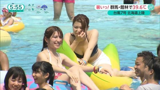 テレビ番組のロケで映った一般女性達の水着姿キャプ 画像32枚 30