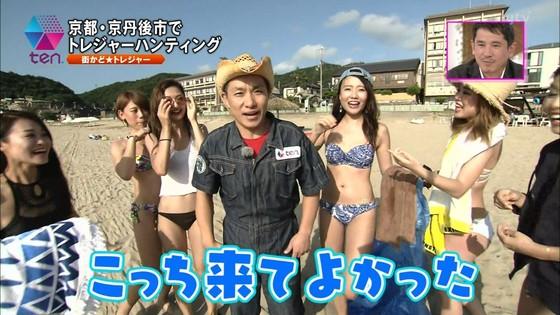 テレビ番組のロケで映った一般女性達の水着姿キャプ 画像32枚 6