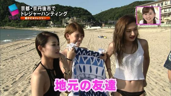 テレビ番組のロケで映った一般女性達の水着姿キャプ 画像32枚 7
