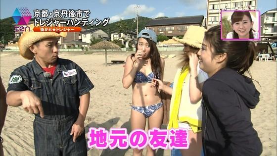 テレビ番組のロケで映った一般女性達の水着姿キャプ 画像32枚 8