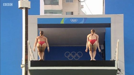 リオ五輪女子飛び込み選手の乳首ポチ&食い込みキャプ 画像32枚 12