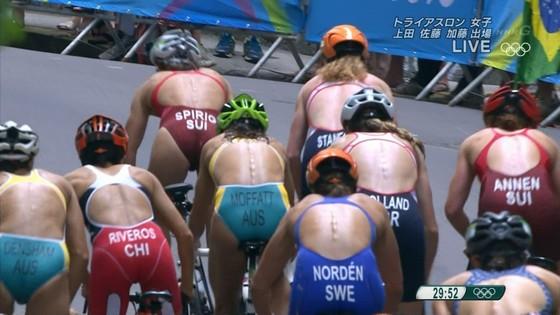 リオ五輪トライアスロン女子選手達の食い込みお尻キャプ 画像32枚 13