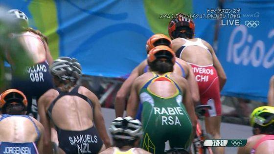 リオ五輪トライアスロン女子選手達の食い込みお尻キャプ 画像32枚 21