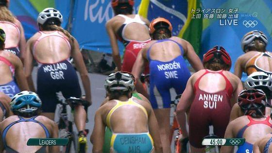 リオ五輪トライアスロン女子選手達の食い込みお尻キャプ 画像32枚 25