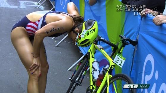 リオ五輪トライアスロン女子選手達の食い込みお尻キャプ 画像32枚 26