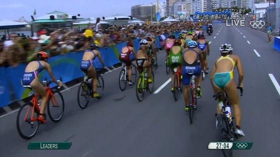 リオ五輪トライアスロン女子選手達の食い込みお尻キャプ 画像32枚 5