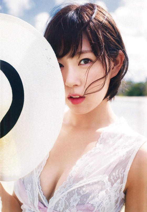 渡辺美優紀 スタイルブックのDカップ水着グラビア 画像22枚 8