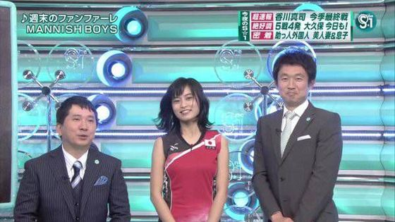 小島瑠璃子 Eカップ胸チラを披露した五輪特集番組キャプ 画像16枚 8