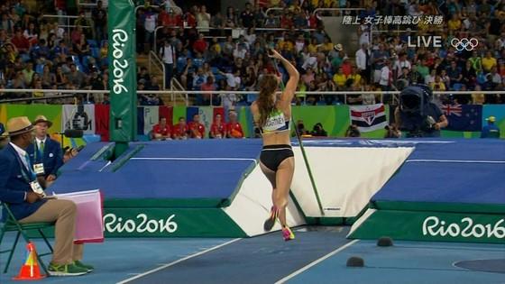 リオ五輪女子棒高跳び選手達のお尻食い込みキャプ 画像30枚 19