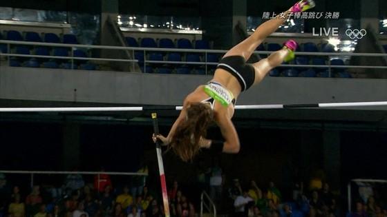 リオ五輪女子棒高跳び選手達のお尻食い込みキャプ 画像30枚 22
