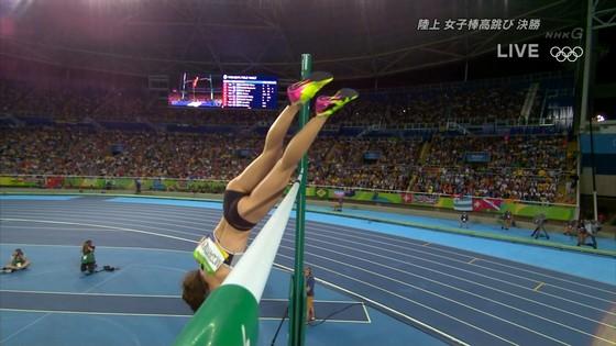 リオ五輪女子棒高跳び選手達のお尻食い込みキャプ 画像30枚 24