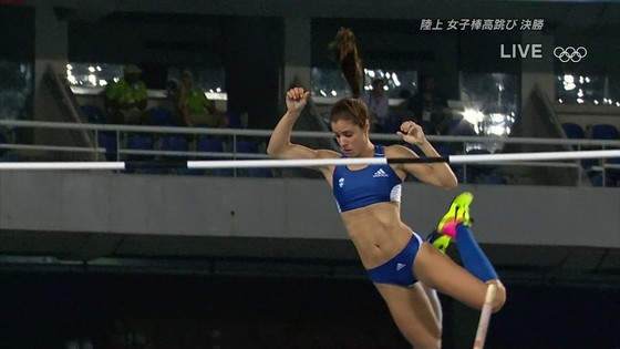 リオ五輪女子棒高跳び選手達のお尻食い込みキャプ 画像30枚 2