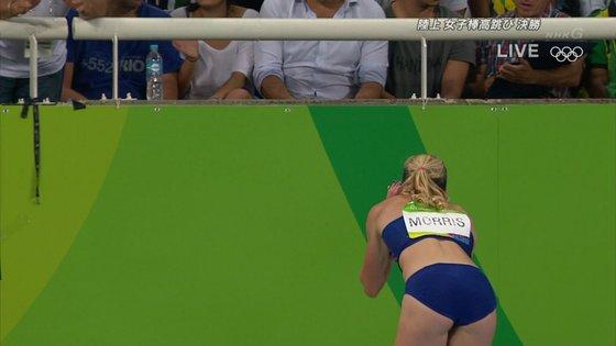 リオ五輪女子棒高跳び選手達のお尻食い込みキャプ 画像30枚 4