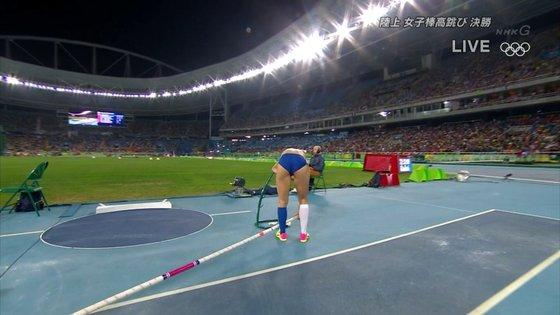 リオ五輪女子棒高跳び選手達のお尻食い込みキャプ 画像30枚 5