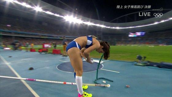 リオ五輪女子棒高跳び選手達のお尻食い込みキャプ 画像30枚 6
