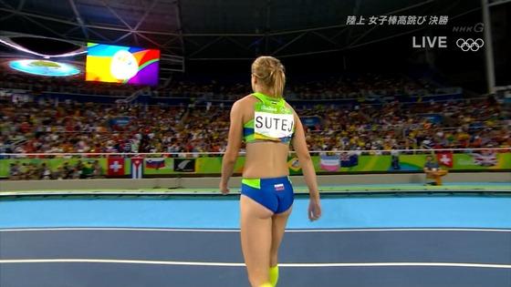 リオ五輪女子棒高跳び選手達のお尻食い込みキャプ 画像30枚 7
