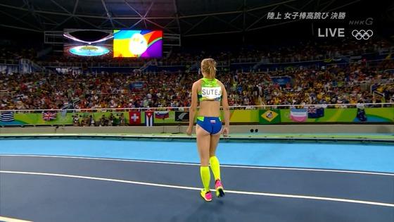 リオ五輪女子棒高跳び選手達のお尻食い込みキャプ 画像30枚 8