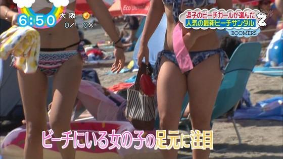 一般女性がビキニ姿を披露したテレビ番組キャプ 画像32枚 11