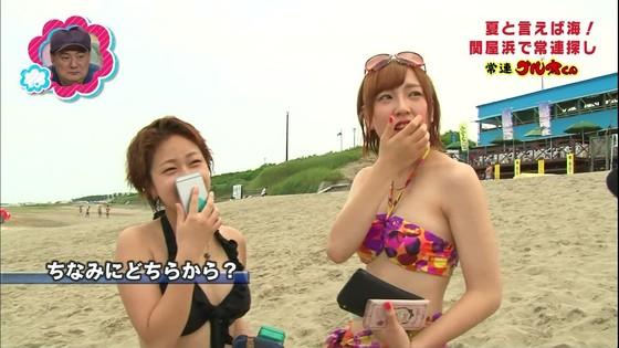 一般女性がビキニ姿を披露したテレビ番組キャプ 画像32枚 24