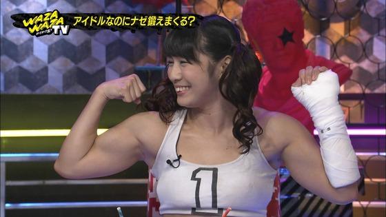 才木玲佳 筋肉アイドルの全開腋&上腕二頭筋キャプ 画像21枚 14
