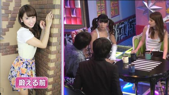 才木玲佳 筋肉アイドルの全開腋&上腕二頭筋キャプ 画像21枚 15