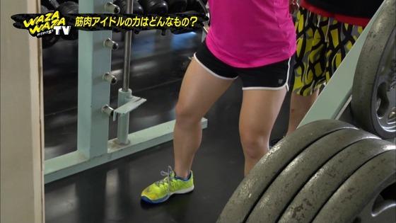 才木玲佳 筋肉アイドルの全開腋&上腕二頭筋キャプ 画像21枚 20